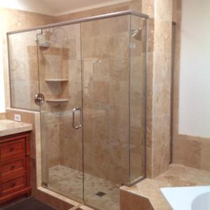 3/8 inch glass shower door