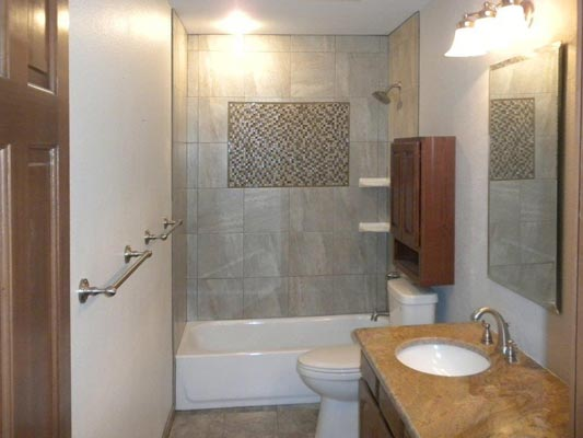 a bathroom shower remodel - Bathroom Fixtures Denver