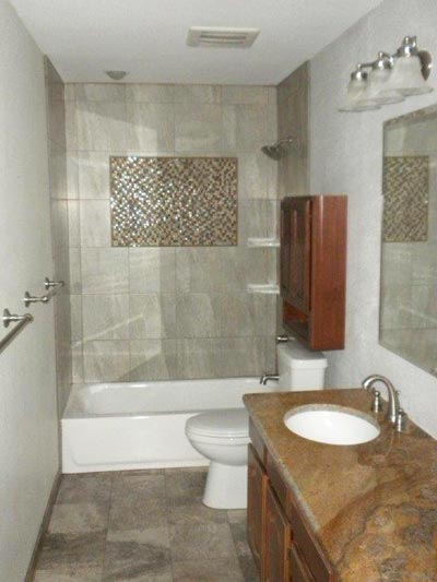 A Bathroom Shower Remodel. A ...