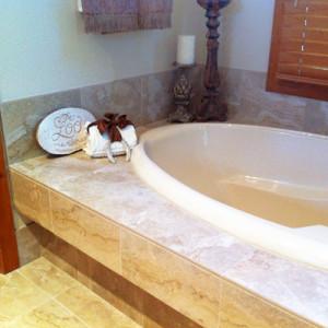 Bathtub Tile Remodel Denver