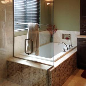 Beautiful Tile Faced Tub Remodel