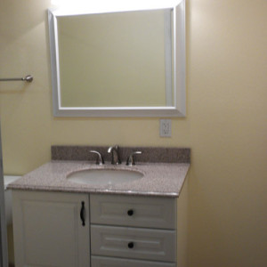 Guest Bathroom Vanity - Finished