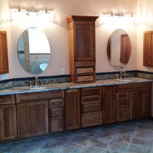 Large Double Vanity Master Bath