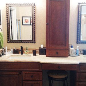Lone Tree CO Bathroom Vanity Remodel