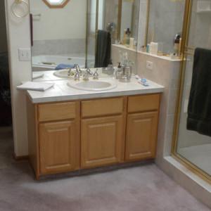 Master Bathroom Before Remodel Highlands Ranch