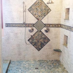Master Bath Walk In Shower Parker CO
