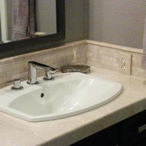 Master Bathroom Remodel Sink