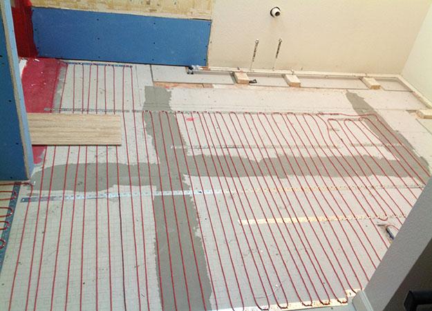 Radiant Floor Heating In Bathroom : Radiant heat floor parker co all about bathrooms