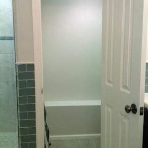 remove bathrub install closet