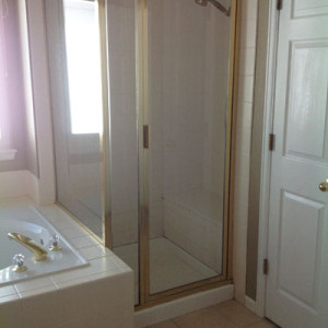 Shower Stall Before Bath Remodel