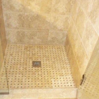 Master Shower Tile Remodel