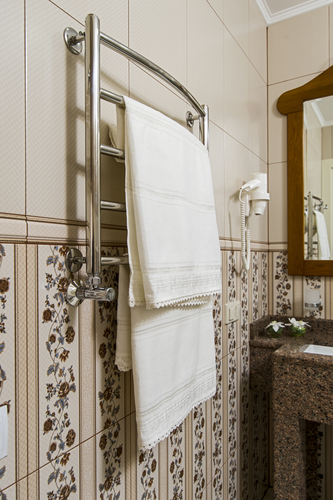 FREE Heated Towel Rack   All About Bathrooms
