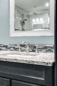 Master bathroom shower remodel - countertop