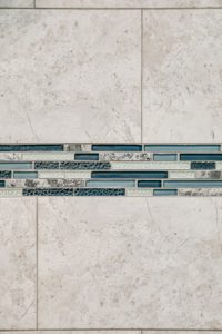 Master bathroom shower remodel - tilework view 3