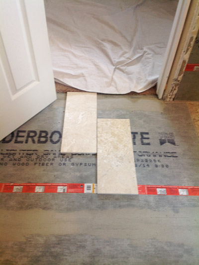 tile bathroom floor backer board floor tile backer board all about bathrooms 24328