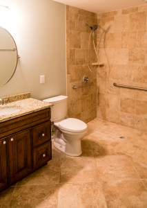 Wheelchair Accessible Showers are Planning Ahead