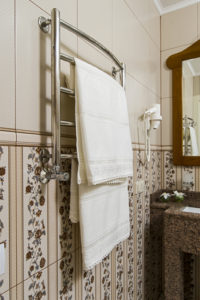 FREE Heated Towel Rack | All About Bathrooms