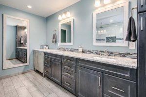 Master bathroom sink / vanity remodel