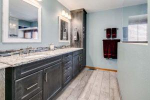 Master bathroom sink / vanity remodel - 2nd view
