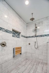 Master bathroom shower remodel - 2nd view