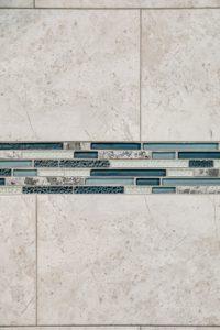 Master bathroom shower remodel - tilework view 3