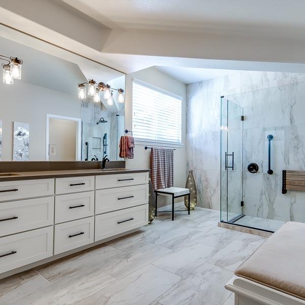 Hinsdale Place Master Bath Remodel (Aurora, CO)